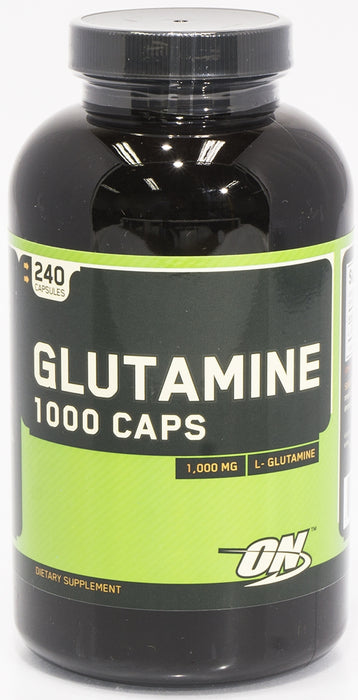 On Glutamine, 1000 MG Dietary Supplement, 240 caps