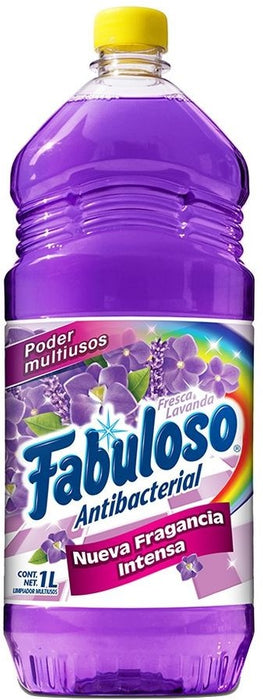 Fabuloso Multi-Purpose Antibacterial Cleaner, Lavender , 1 L