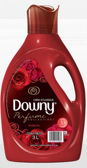 Downy Passion Laundry Softener, Perfume Collections, 3 L