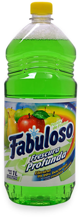 Fabuloso Pure Cleanliness Antibacterial Cleaner, Fruit Passion, 1 L