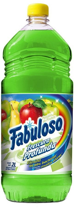Fabuloso Pure Cleanliness Antibacterial Cleaner, Fruit Passion, 2 L