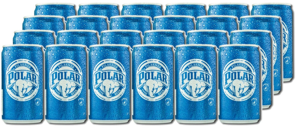 Polar Beer Cans, 24 x 8 oz