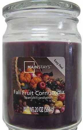 Mainstays Jar Candle Set, Fruit Cornucopia Fragrance, 5 ct