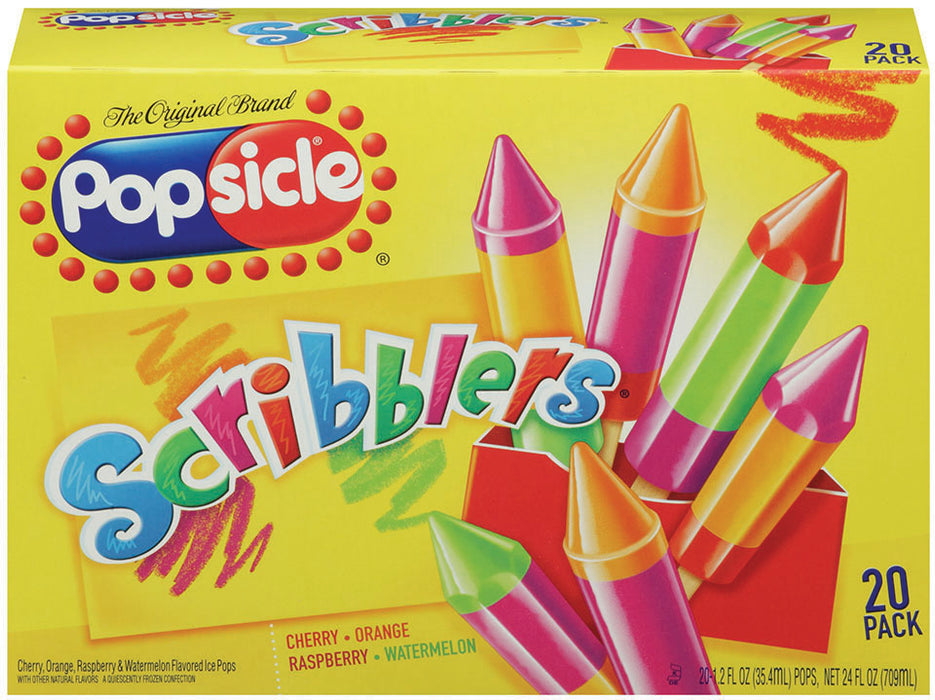 Popsicle Scribblers Variety Pack, 20 ct