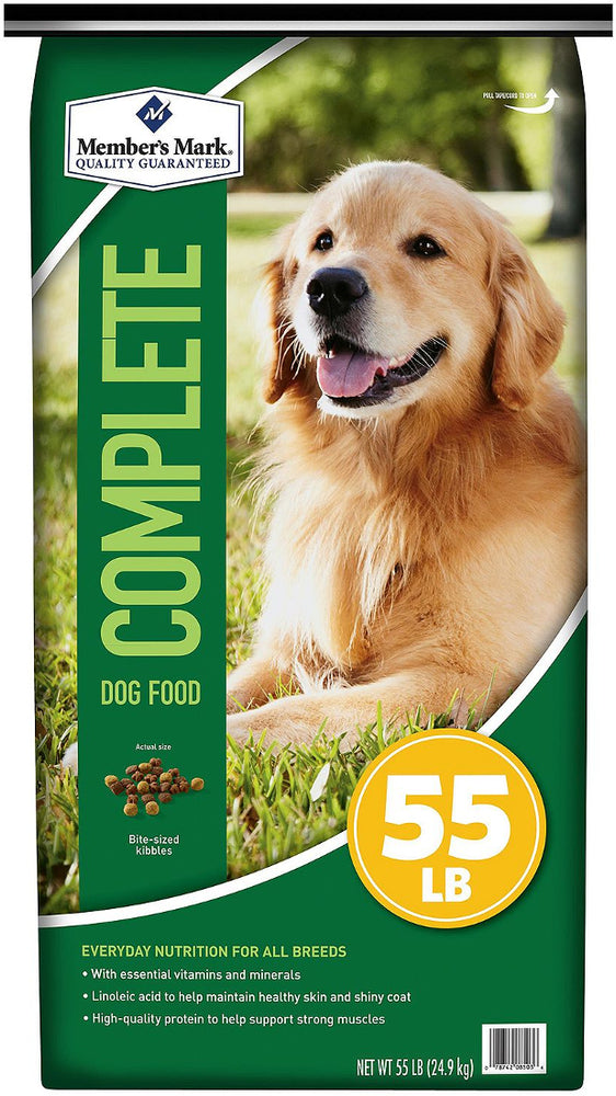 Member's Mark Complete Nutrition Dog Food, 55 lbs