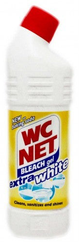 WC Net Bleach Gel with Baking Soda, Extra White, 940 ml