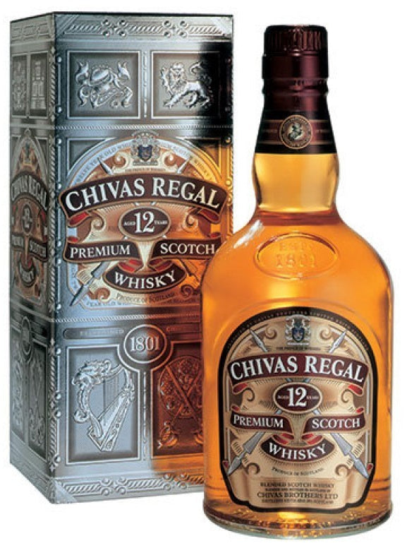 Chivas Regal Premium Scotch Whisky, 12 years, 750 ml