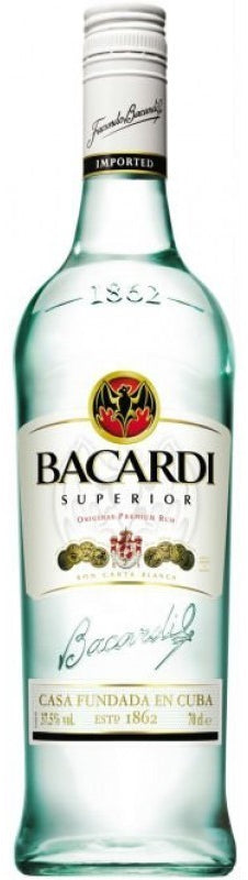 Bacardi Superior White Rum, 750 ml