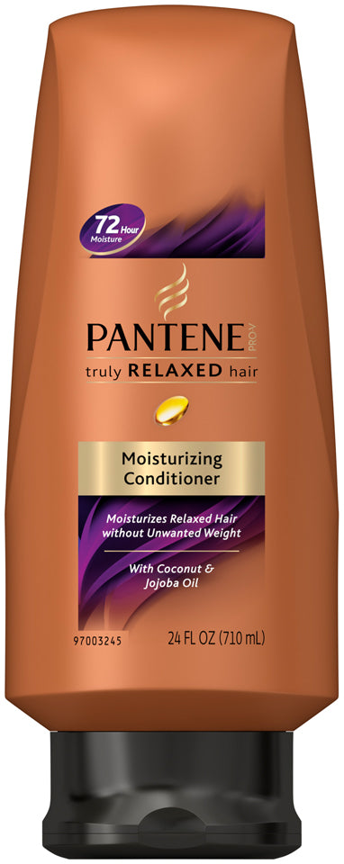 Pantene Truly Relaxed Hair Moisturizing Conditioner, 24 oz
