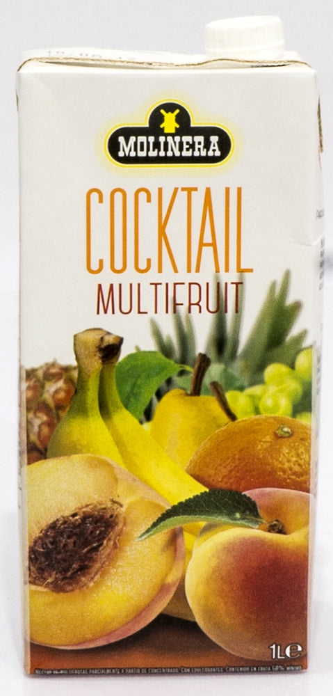 Molinera Cocktail MultiFruit Nectar, 1 L