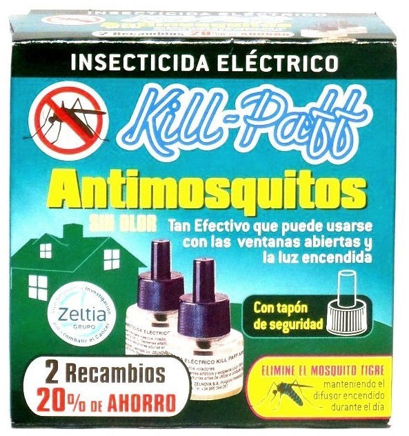 Kill-Paff Anti-Mosquitos Electric Refills, 2 ct