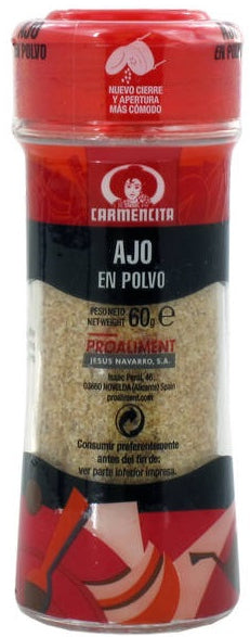 Carmencita Ground Garlic, 60 gr