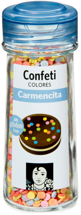 Carmencita Colorful Sugar Confetti, 55 gr