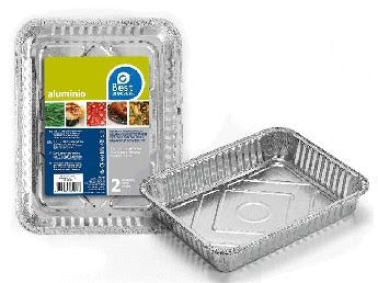 Best Products Rectangular Tray, 225 mm, 2 ct