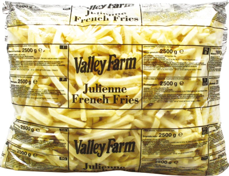 Valley Farm French Fries, 2500 gr
