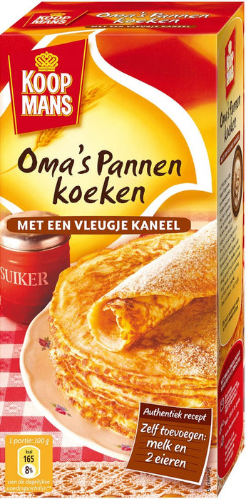 Koopmans Grandma's Pancakes with a Touch of Cinnamon, 400 gr
