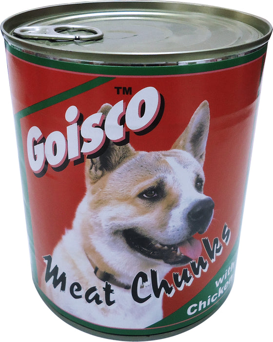 Goisco Meat Chunks with Chicken, Dog Food, 820 gr