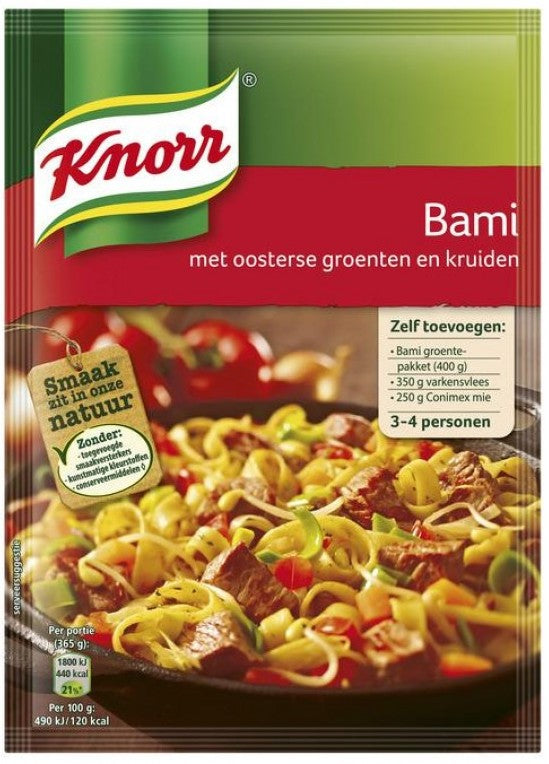 Knorr Bami Mix, with Oriental Vegetables and Herbs, 35 gr