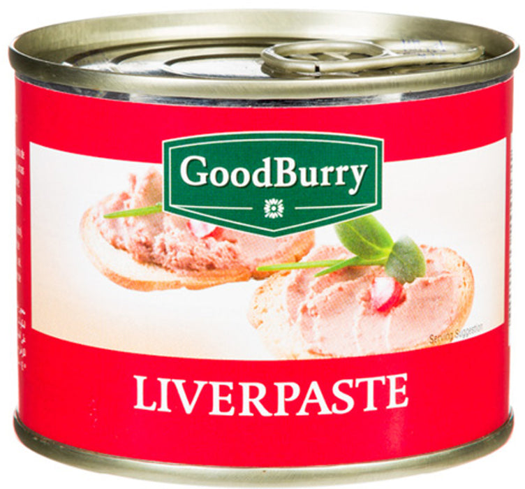 Goodburry Liverpaste, 200 gr