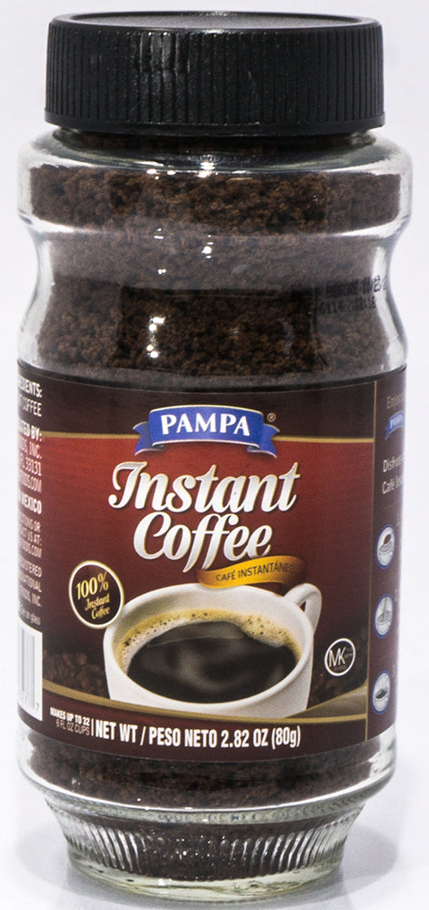 Pampa 100% Instant Coffee, 2.62 oz