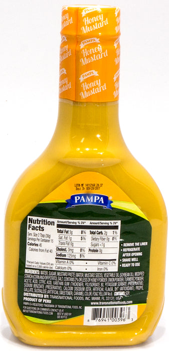 Pampa Honey Mustard Dressing, 16 oz