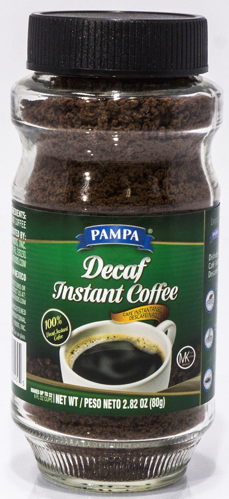 Pampa Decaf Instant Coffee, 2.62 oz