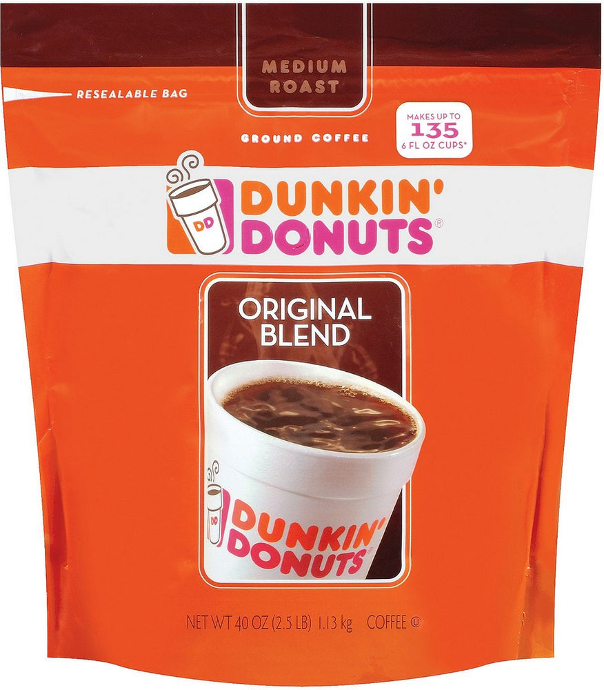Dunkin Donuts Ground Coffee, 40 oz