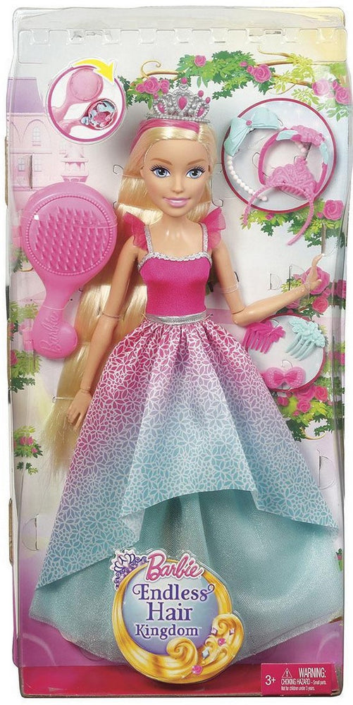 Barbie Endless Hair Kingdom Doll, Model #DPR98