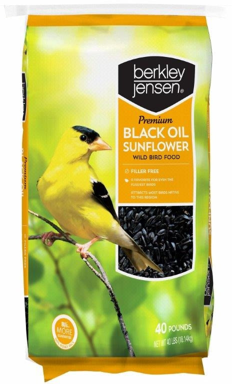 Berkley Jensen Sunflower Seeds, 40 lbs