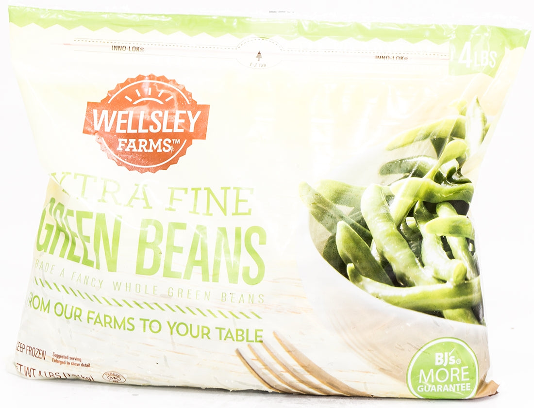 Wellsley Farms Extra Fine Green Beans, 4 lb