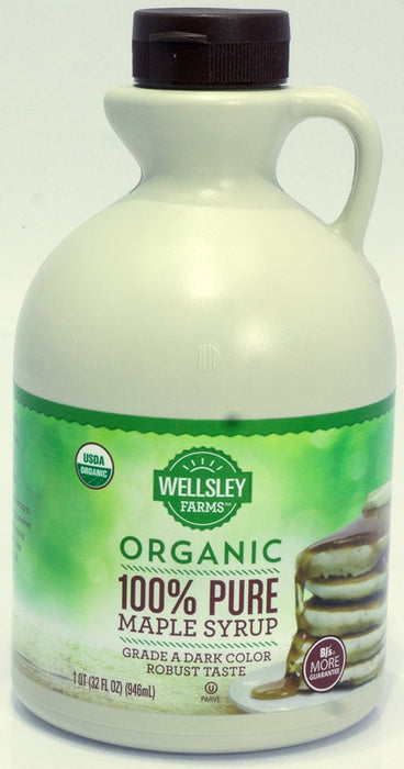Wellsley Farms Pure Maples Syrup, 32 oz