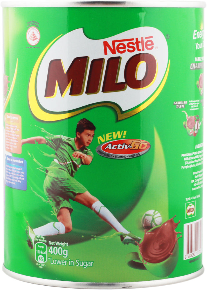 Nestle Milo Active Go Flavored Powder, 400 gr