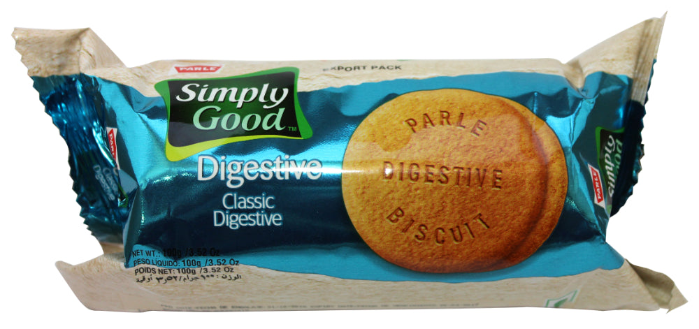 Parle Simply Good Classic Digestive Biscuit, 3.52 oz