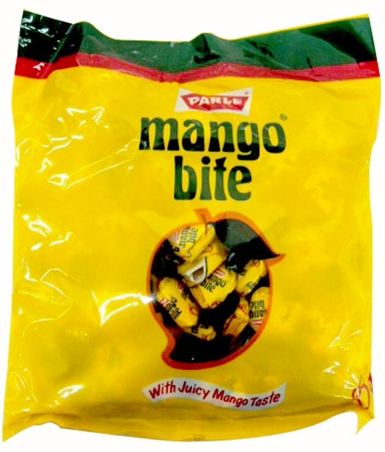 Parle Mango Bite Candies with Juicey Mango Taste, 320 gr