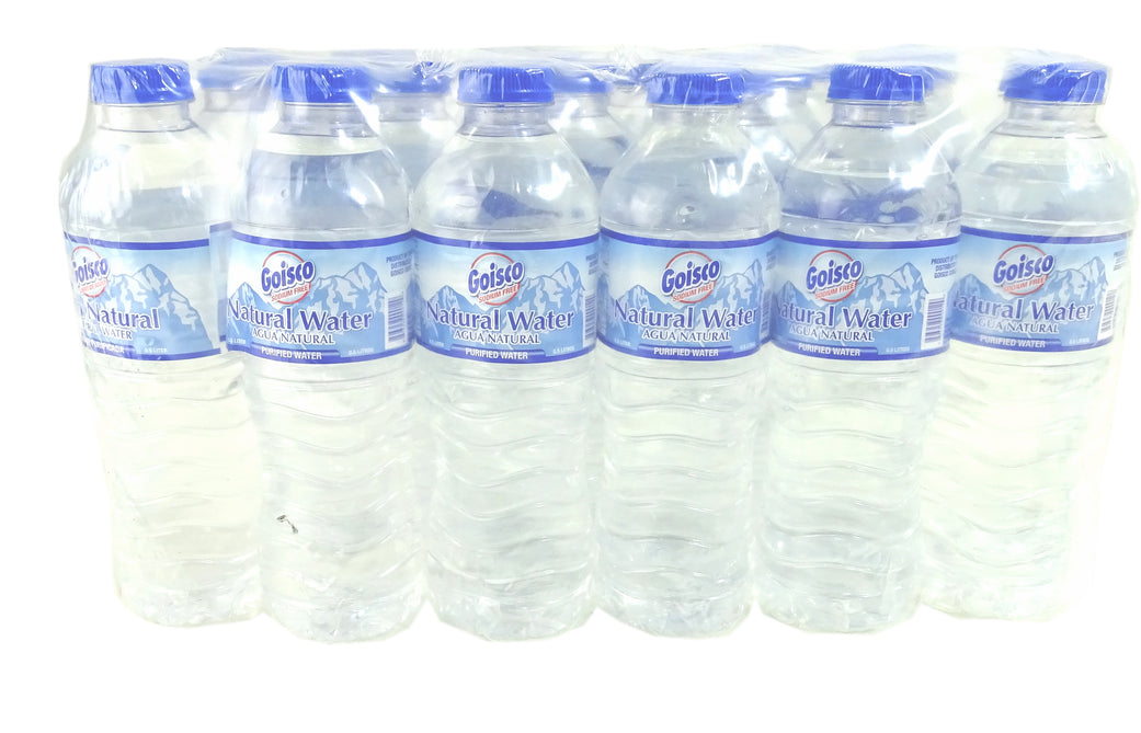 Goisco Natural Water, 24 x 0.5 L