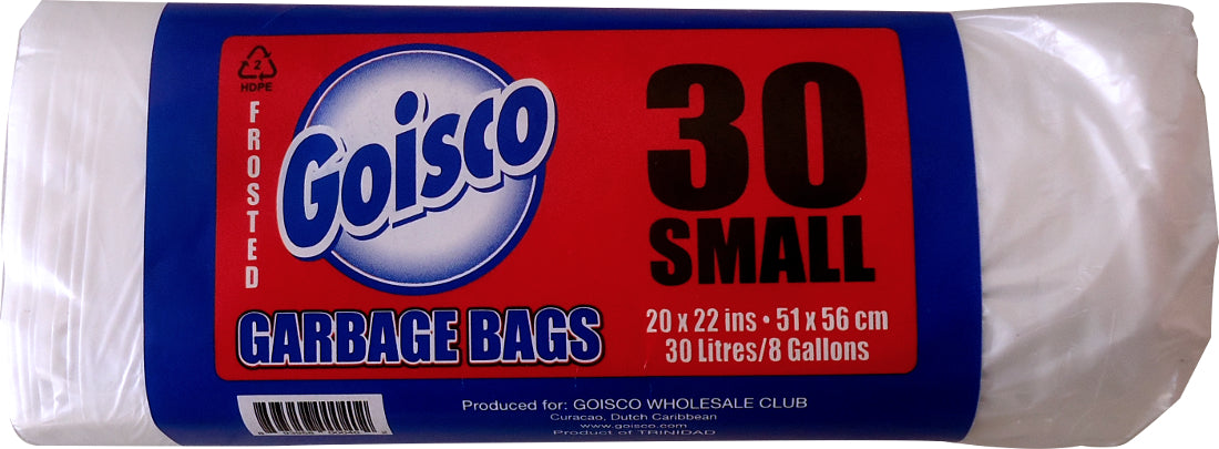 Goisco Small Trash Bags,  8 Gallons, 30 ct