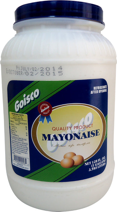 Goisco Quality Mayonnaise, 1 gal