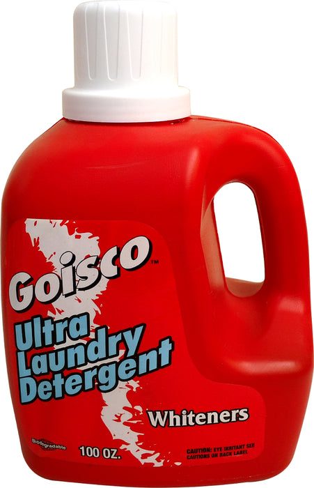 Goisco Ultra Laundry Detergent, Whiteners, 100 oz