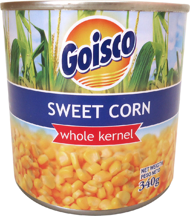 Goisco Sweet Corn, Whole Kernel, 340 gr