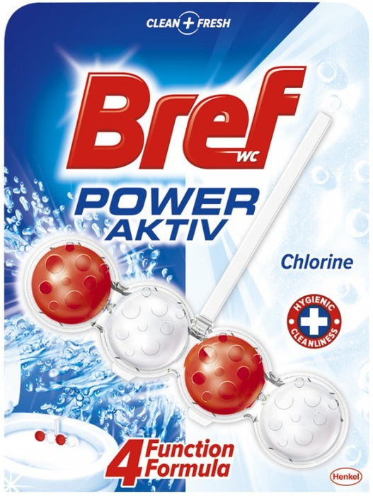Bref WC Chlorine, Power Aktiv, 1 x 50 gr