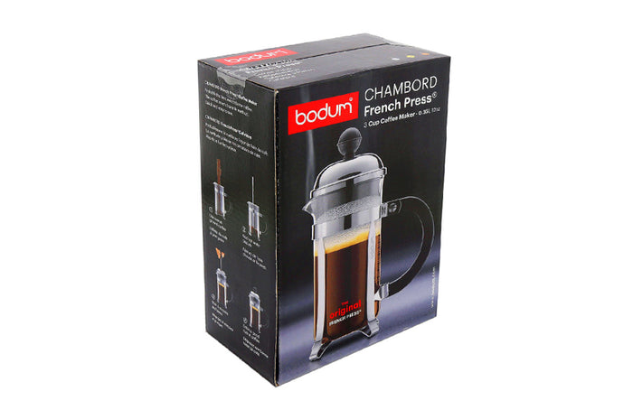 BODUM CHAMBORD PLUNGER - 3 CUP