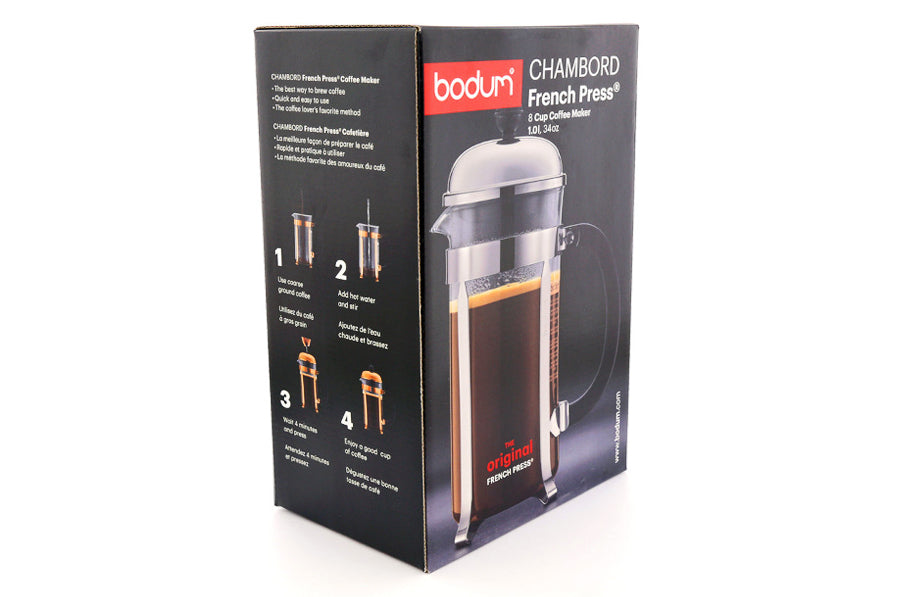 BODUM CHAMBORD PLUNGER - 8 CUP