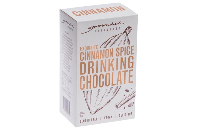 GROUNDED PLEASURES DRINKING CHOCOLATE - CINNAMON