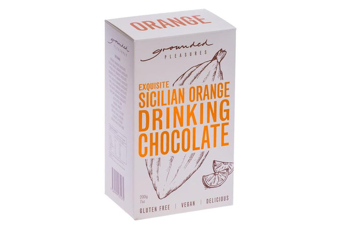 GROUNDED PLEASURES DRINKING CHOCOLATE - ORANGE