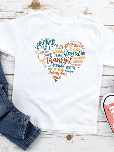 Grateful Heart - Toddler Tee