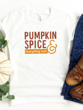 Load image into Gallery viewer, Pumpkin Spice and Everything Nice - Toddler Tee