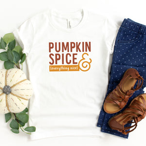 Pumpkin Spice and Everything Nice - Toddler Tee