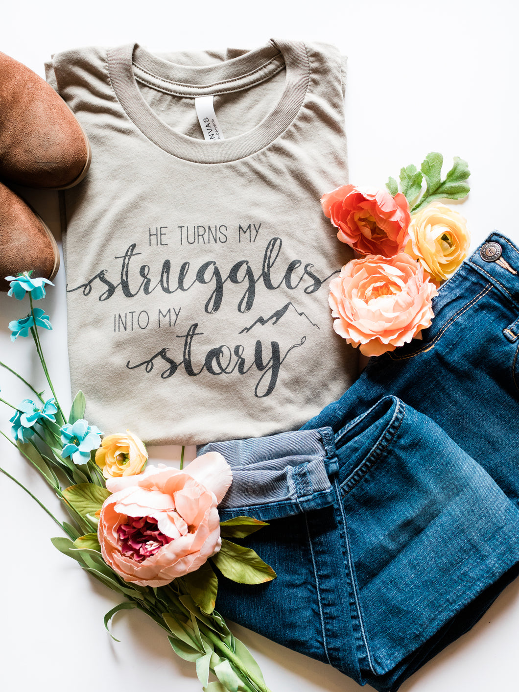 He Turns My Struggles Into My Story - Heather Stone