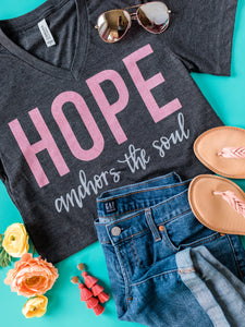 Hope Anchors the Soul-Deep Heather Gray