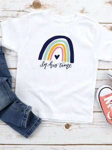In His Time - Toddler, Bella + Canvas Tee